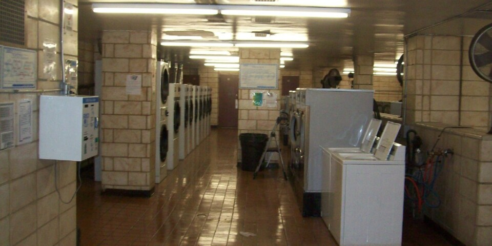 Large, Well-Appointed Laundry Facility